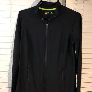 Running Long Sleeve zip up jacket